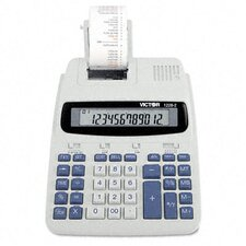 <strong>Victor Technology</strong> Roller Printing Calculator, 12-Digit Lcd