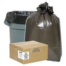Classic 2-Ply Low-Density Can Liners, 7-10Gal, .6 Mil, 24 X 23, 500/Carton