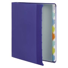 "View-Tab Round Ring Presentation Binder, 8-Tab Style, 1"" Capacity"