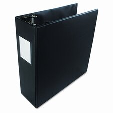 "Basic D-Ring Binder, 3"" Capacity"