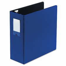 "Locking No-Gap D-Ring Binder, 4"" Capacity"