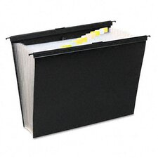 Slidebar File with Expanding 13 Pockets, Letter