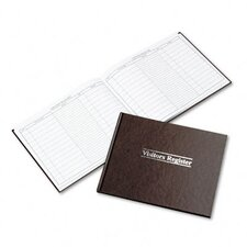 Visitor Register Book, 112 Pages, 8 1/2 X 11 1/2