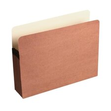"Redrope File Pocket w/Manila Lining, 5 1/4"" Exp., Letter, 1/ea"