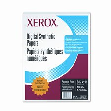 Polyester Paper, 8-1/2 x 11, White, 100 Sheets