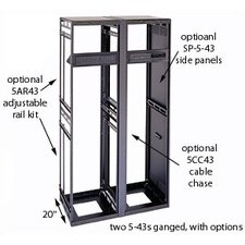 "26"" D Slim 5 Series Equipment Rack Enclosure"
