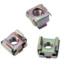 WRK Series 100 Piece 6MM Cage Nuts
