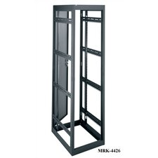 "MRK Series 40 Space (70""), 36"" D Gangable Rack with Rear Door"