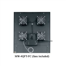 "VMRK-54 Series 4 1/2"" Quiet Top Fan"