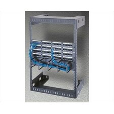 "Wall Mount Open Frame Rack, 18"" D"