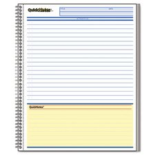 Cambridge Limited Cambridge Limited Business Notebook, Ruled, Letter, 80 Sheets/Pad