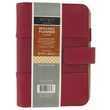 "<strong>Mead</strong> 3-3/4"" x 6-3/4"" Assorted Colors Rapture Express Day Planner"