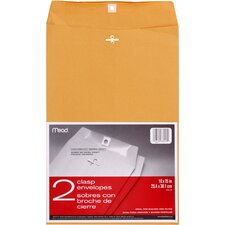 "10"" x 15"" Kraft Clasp Envelope (2 Count)"