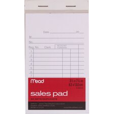 "3.25"" x 5.88"" Sales Pad with Duplicates (50 Count)"
