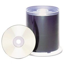 Spindle Cd-R Discs, 700Mb/80 Min, 48X, 100/Pack