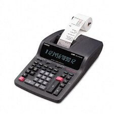 <strong>Casio®</strong> DR-270TM Desktop Calculator, 12-Digit Digitron, Two-Color Printing