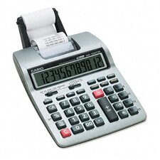 <strong>Casio®</strong> Portable Printing Calculator, 12-Digit Lcd