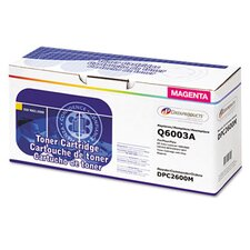 DPC2600M (Q6003A) Remanufactured Laser Cartridge, Magenta