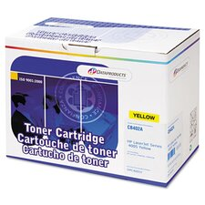 DPC4005Y (CB402A) Remanufactured Toner Cartridge, Yellow