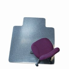 <strong>E.S. ROBBINS</strong> 45X53 Lip Chair Mat, Professional Series Anchorbar For Carpet Up To 3/4""