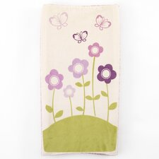 Floral Printed Changing Pad Cover