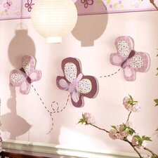 <strong>CoCaLo Baby</strong> Sugar Plum 3-Piece Wall Hanging