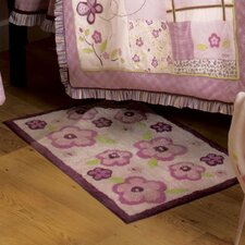 Sugar Plum Flower Kids Rug