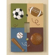 Sports Fan Switch Plate