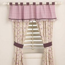 Sugar Plum Window Tab Top Drape Panel (Set of 2)
