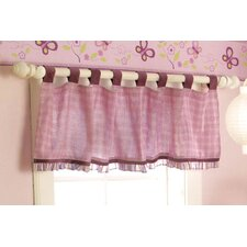Sugar Plum Tab Top Tailored Curtain Valance