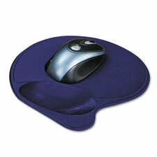 Wrist Pillow Extra-Cushioned Mouse Pad, Nonskid Base, 8 X 11