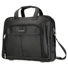 Simply Portable 80 Deluxe Notebook Case, 16-3/4 x 4 x 13-1/2, Nylon, Black