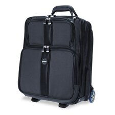Overnight Laptop Case, Nylon, 16-1/8w x 10-1/8d x 18-1/2h, Black