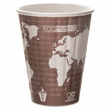 Insulated Compostable Hot Cup (600 Pack)
