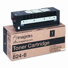824-6 OEM Toner Cartridge, 20000 yield, Black