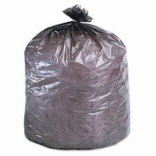 Eco-Degradable Plastic Trash Garbage Bag, 39 Gal, 1.1Mil, 33X44, 40/Box