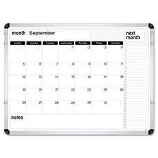 "Perpetual Calendar 1'5"" x 1'11"" Whiteboard"