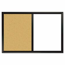 Dudes Magnetic 2' x 3' Combo Whiteboard and Bulletin Board