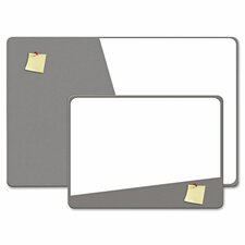 "Combination Magnetic Dry Erase and Foam Board, 24"" X 36"""