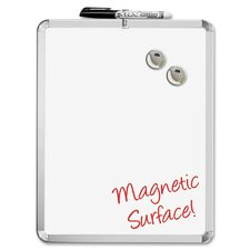 "Magnetic 1' 2"" x 11"" Whiteboard"