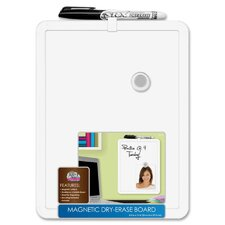"Magnetic 11"" x 8.5"" Whiteboard"