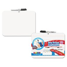 "Double Sided Lap 9"" x 1' Whiteboard"