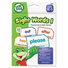 Leapfrog Sight Words I Flash Card