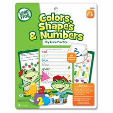 Leapfrog Dry Erase Colors, Shapes and Numbers Activity Book