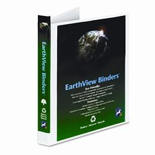 "Earthview Round Ring Presentation Binder, 1/2"" Capacity"