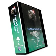 "Earthview Round Ring Presentation Binder, 3"" Capacity"