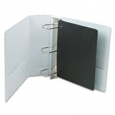 "Cardinal Clearvue Xtravalue Slant D-Ring Presentation Binder, 4"" Capacity"
