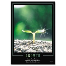 <strong>Aurora Products</strong> Seco Growth Framed Motivational Print, 24 X 30