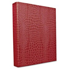 "PROformance II Round Ring Binder, Non-View, Letter Size, 1"" Capacity, Red"