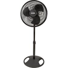 "16"" Oscillating Stand Fan in Black"